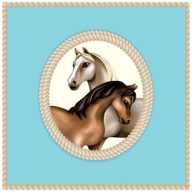 Ponies Lunch Napkins (20)