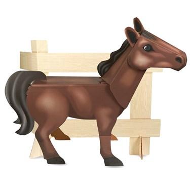 Ponies - Standup Brown Pony