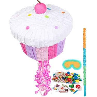 Pink Cupcake Pinata Kit