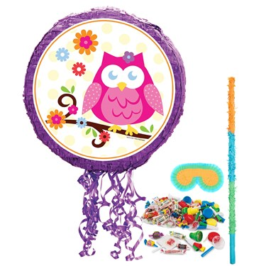 Owl Blossom Pinata Kit