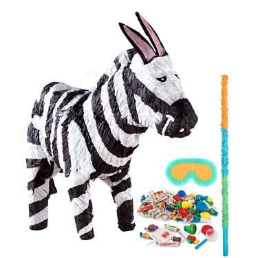 Zebra Pinata Kit
