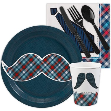Little Man Mustache Snack Party Pack