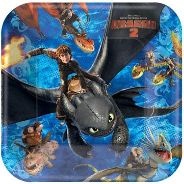 How to Train Your Dragon 2 - Dinner Plates(8)