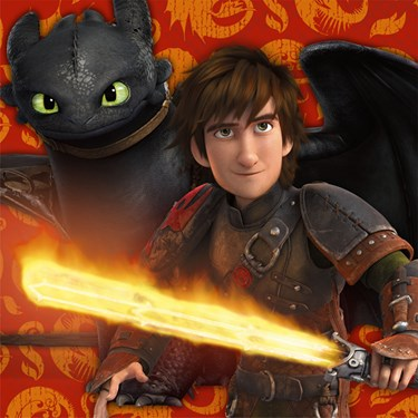 How to Train Your Dragon 2 - Lunch Napkins (16)