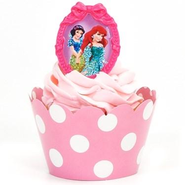 Disney Princess Cupcake Wrapper & Pick Kit