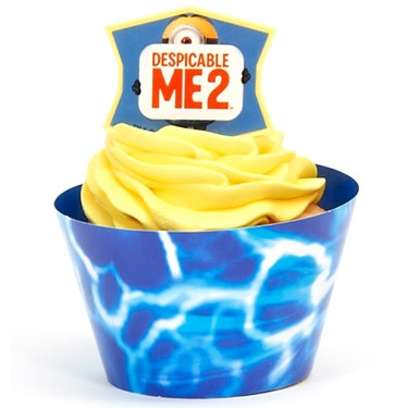 Minions Despicable Me - Cupcake Wrapper Combo Kit