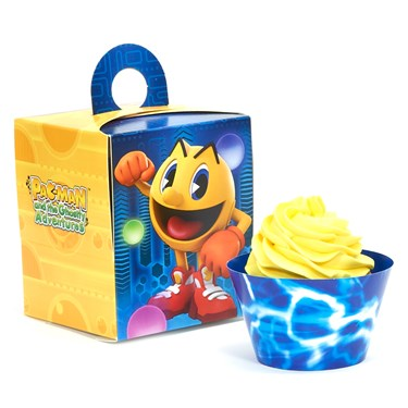 PAC-MAN and the Ghostly Adventures Cupcake Wrapper & Box Kit