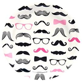 Pink Mustache)