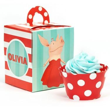 Olivia Cupcake Wrapper Combo Kit