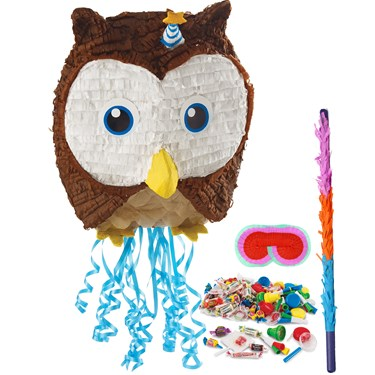 Owl Blue Pinata Kit