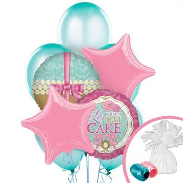 Let Them Eat Cake Balloon Bouquet