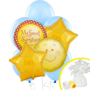 Little Sunshine Party Balloon Bouquet