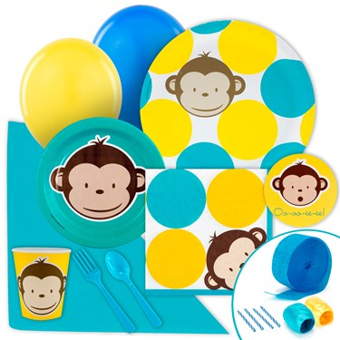 Mod Monkey Just Because Party Pack for 8