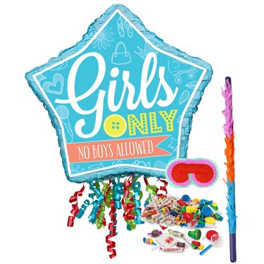 Girls Only Party Pinata Kit