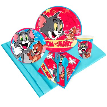 Tom and Jerry Just Because Party Pack for 8