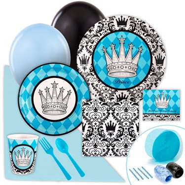 Elegant Prince Damask Just Because Party Pack for 8