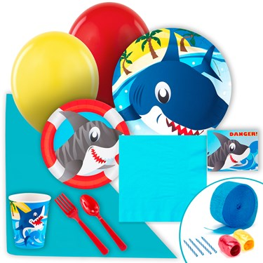 Sharks Just Because Party Pack for 8