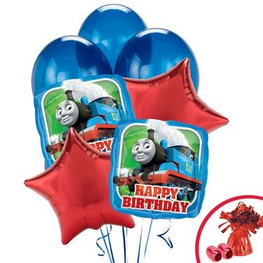Thomas the Tank Happy Birthday Balloon Bouquet