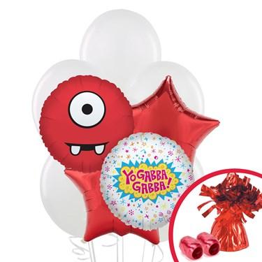 Yo Gabba Gabba! Party Balloon Bouquet
