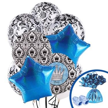 Elegant Prince Damask Balloon Bouquet