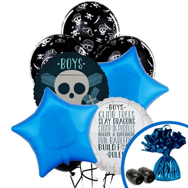 Boys Only Bash Balloon Bouquet