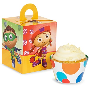 Super Why! Cupcake Wrapper & Box Kit