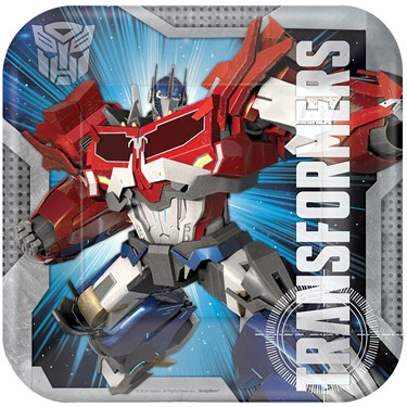 Transformers Dinner Plates (8)