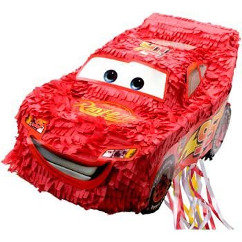Disney Cars 3D Pull String Pinata