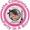 Paris Damask Personalized Party in a Box
