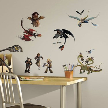 How to Train Your Dragon 2 - Giant Wall Decals