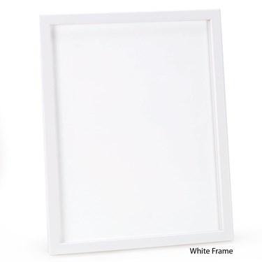 """11"""" x 14"""" White Frame"""