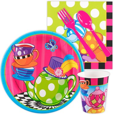 Topsy Turvy Tea Party Snack Party Pack