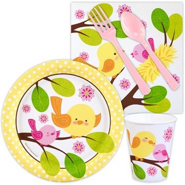 Sweet Tweet Bird Pink Snack Party Pack