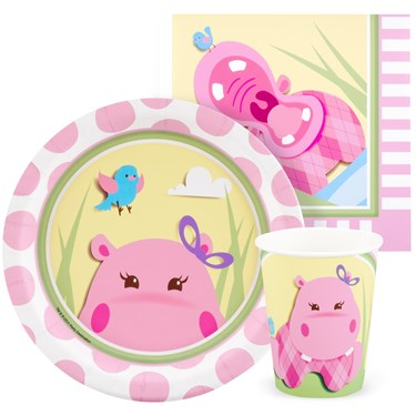 Hippo Pink Playtime Snack Pack