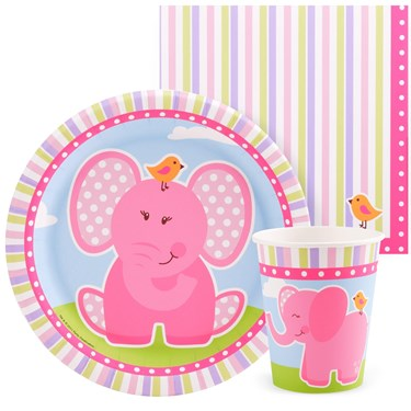 Pink Elephants Playtime Snack Pack