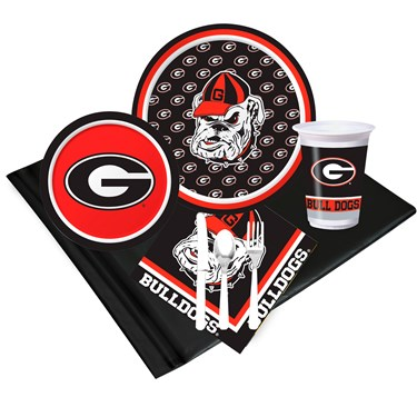 University of Georgia Bulldogs Just Because Pack for 8