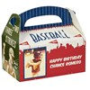 Baseball Time Personalized Empty Favor Boxes (8)
