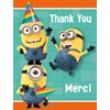 Minions Despicable Me - Thank You Notes (8)