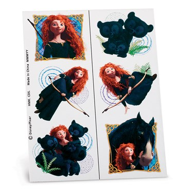 Disney Brave Tattoo Sheets