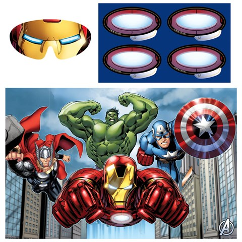 Avengers Assemble Party Supplies – Marvel Party Invitations