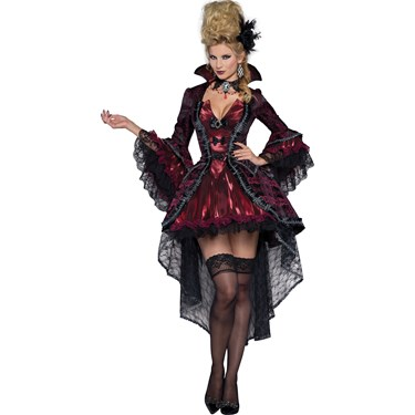 Adult Victorian Vamp Costume