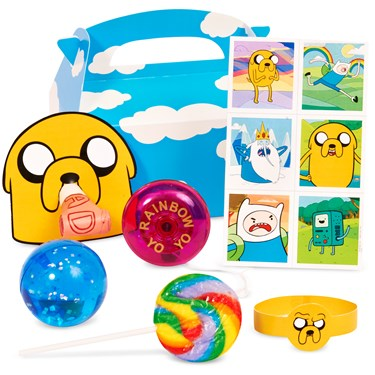 Adventure Time Filled Party Favor Box