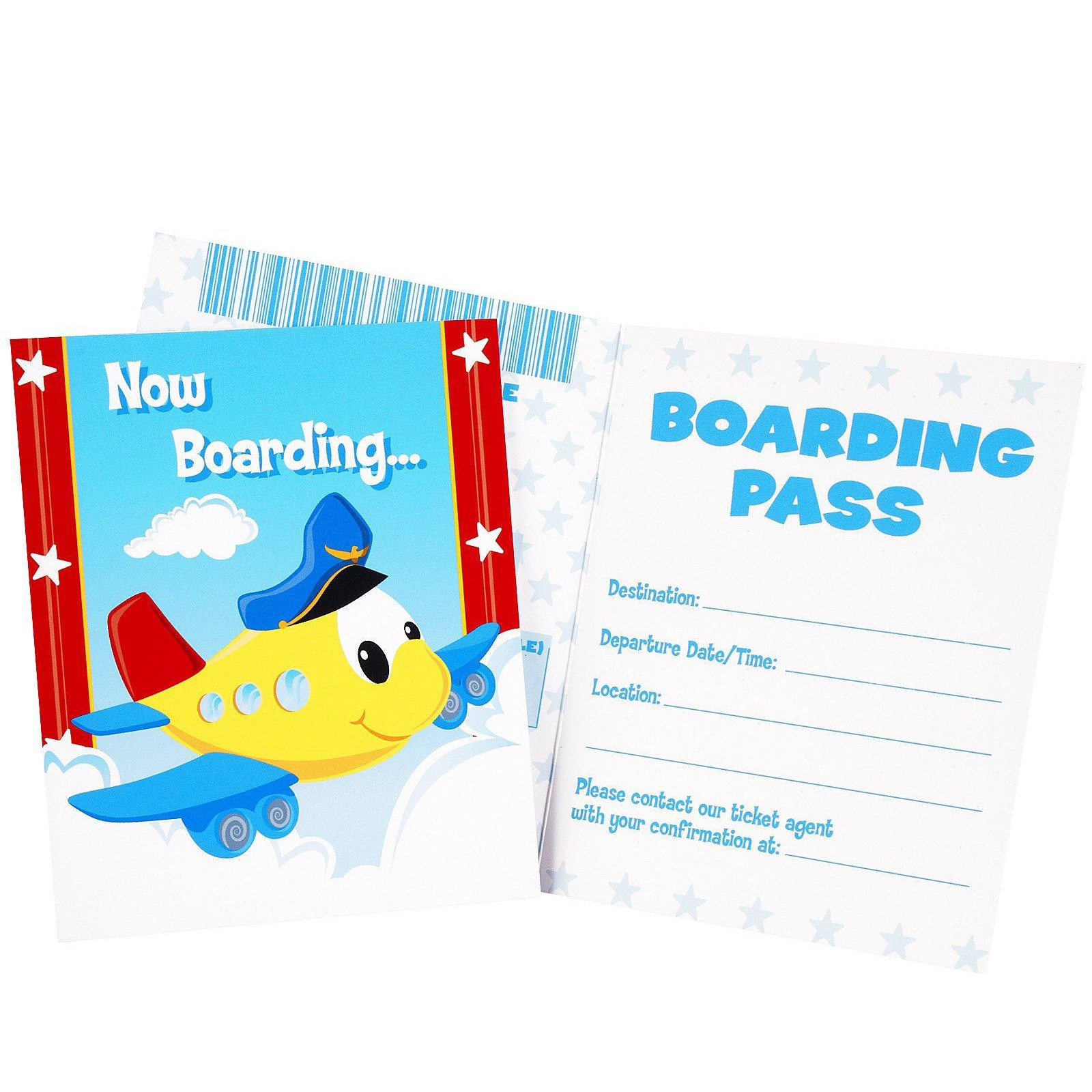 Airplane Adventure Invitations | BirthdayExpress.com