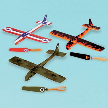 Airplane Glider Favors (12)