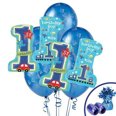 All Aboard 1st Birthday Jumbo Balloon Bouquet Kit