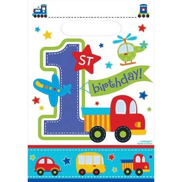 All Aboard Birthday Treat Bags(8)