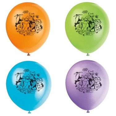 "Animal Jam 12"" Latex Balloons (8)"