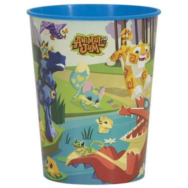 Animal Jam 16oz Plastic Favor Cup (1)