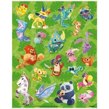 Animal Jam Sticker Sheets (4)