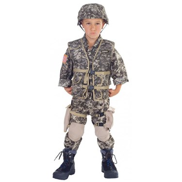 Army Ranger Deluxe Child Costume